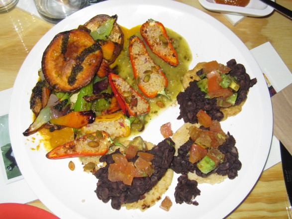 The Latino Botanas Sampler Plate