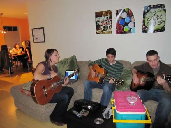 Musical talent provided by: Halley Claire Bass (vocals and guitar), Alex Fontaine (guitar extraordinaire), Daniel Mordecai Trub (One man band)