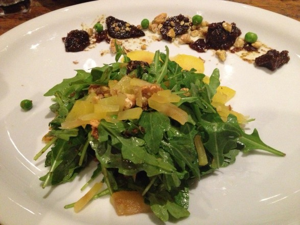 Pear Salad at The Peasantry Chicago
