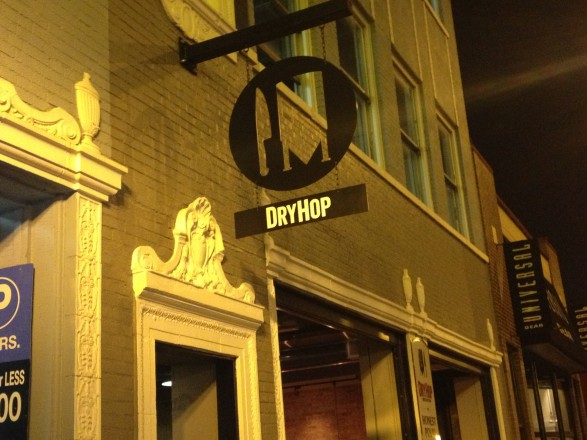 DryHop Brewers facade Lakeview Chicago