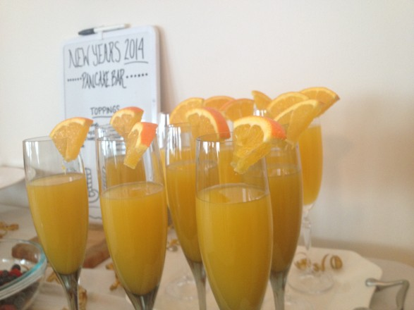 Ginger Orange New Years Day Morning Cocktail