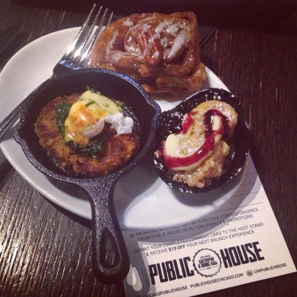 Public House sweet and salty Chicago brunch